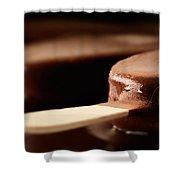 Ice Cream Chocolate Bar Shower Curtain