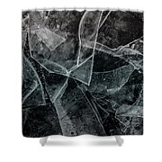 Ice Dream Shower Curtain