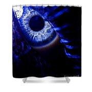 Ice Eye Shower Curtain