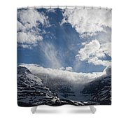 Ice Field Parkway Shower Curtain