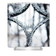 Ice First Kiss Shower Curtain