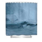 Ice Fishing Shower Curtain