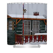 Ice Fishing Derby 10 Shower Curtain