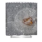 Ice Fishing Hole 10 Shower Curtain