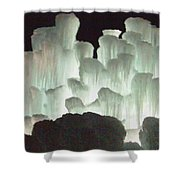 Ice Flow 13 Shower Curtain