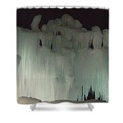 Ice Flow 19 Shower Curtain