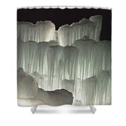 Ice Flow 20 Shower Curtain