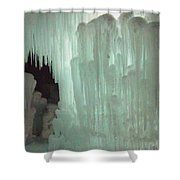 Ice Flow 21 Shower Curtain