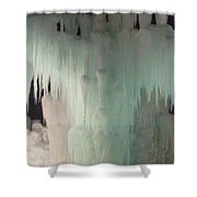Ice Flow 23 Shower Curtain