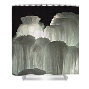 Ice Flow 4 Shower Curtain