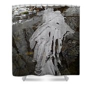 Ice Flow 7 Shower Curtain
