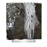 Ice Flow 8 Shower Curtain