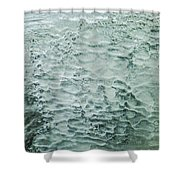 Ice Formations IIi Shower Curtain