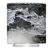 Ice Formations Viii Shower Curtain