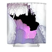 Ice Fringe Shower Curtain