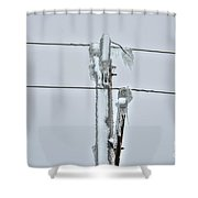 Ice Memories Shower Curtain