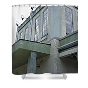 Ice Plant Shower Curtain
