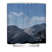 Ice Reflections Shower Curtain