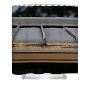 Ice Roof Shower Curtain