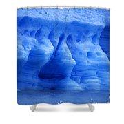 Ice Sculpture Shower Curtain