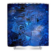 Ice Slace Shower Curtain