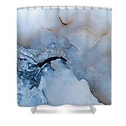 Ice Transformation V Shower Curtain