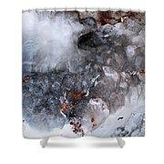Ice Transformation Vii Shower Curtain