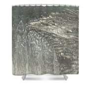 Ice Wing Plastic Shower Curtain