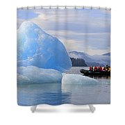 Iceberg Ahead Shower Curtain