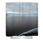 Iceberg And Polinya In The Ross Sea Shower Curtain
