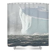 Iceberg In Bransfield Strait Shower Curtain