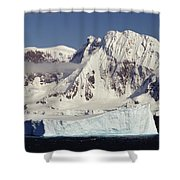 Icebergs Northern Tip Of The Antarctic Shower Curtain
