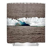 Iceburg With Passenger Shower Curtain