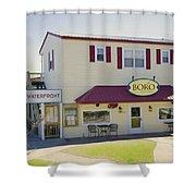 Icehouse Waterfront Restaurant 1 Shower Curtain