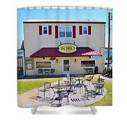 Icehouse Waterfront Restaurant 2 Shower Curtain