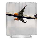 Icelandair Boeing 757 Shower Curtain