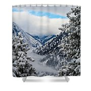 Icicle Creek Shower Curtain
