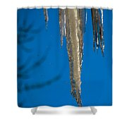 Icicles 1 Shower Curtain