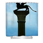 Iconic Griffin Shower Curtain