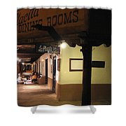 Iconic La Placita - Albuquerque  Shower Curtain