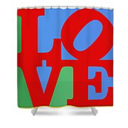 Iconic Love Shower Curtain