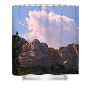 Iconic Mount Rushmore Shower Curtain