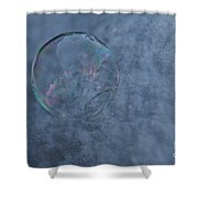 Icy Air Shower Curtain