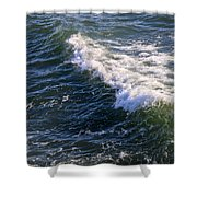 Icy Cold Ocean Water Shower Curtain