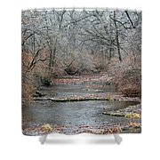Icy Creek Shower Curtain