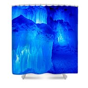 Icy Shower Curtain