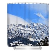 Icy Profile Shower Curtain