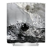 Icy Water Shower Curtain