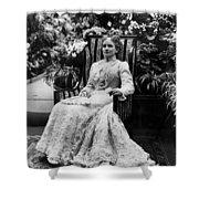 Ida Mckinley (1847-1907) Shower Curtain