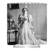 Ida Saxton Mckinley (1847-1907) Shower Curtain